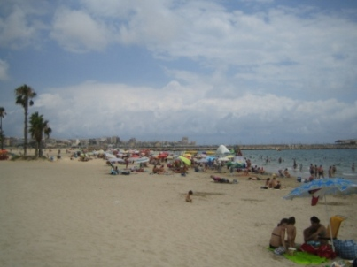 Torrevieja playa naufragos