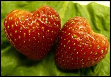 Valentine - fresas