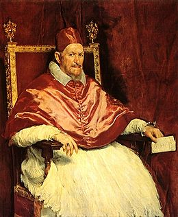 pope innocent X - velazquez