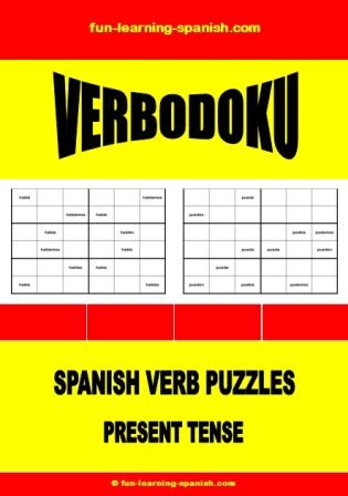 Verbodoku: Spanish Verb Sudoku Puzzles