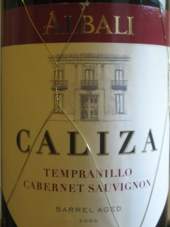 Albali Caliza wine
