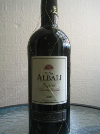 vina albali full bottle