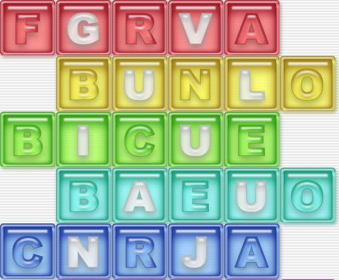 Spanish Word Scramble