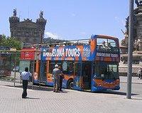 Autobús turística en Barcelona