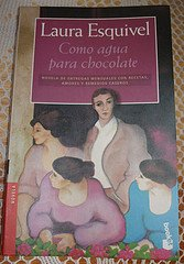El libro de Como Agua para chocolate