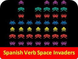 Spanish Verb Space Invaders