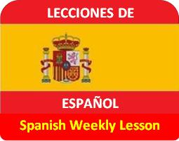 Spanish Weekly Lesson