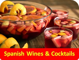 Spanish wines and cocktails