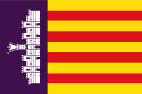 Mallorca flag - bandera