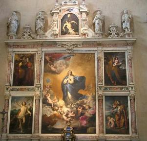 retablo in salamanca by ribera